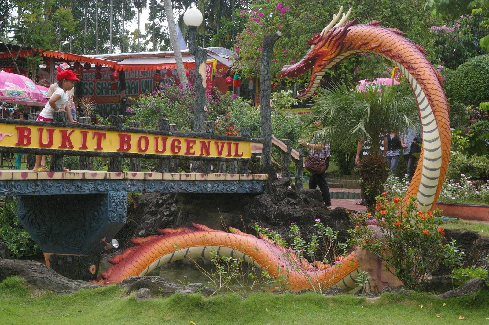 Taman Bunga Bukit Bougenvile Singkawang Kalimantan Barat Wisata Imgp0414 Kolam