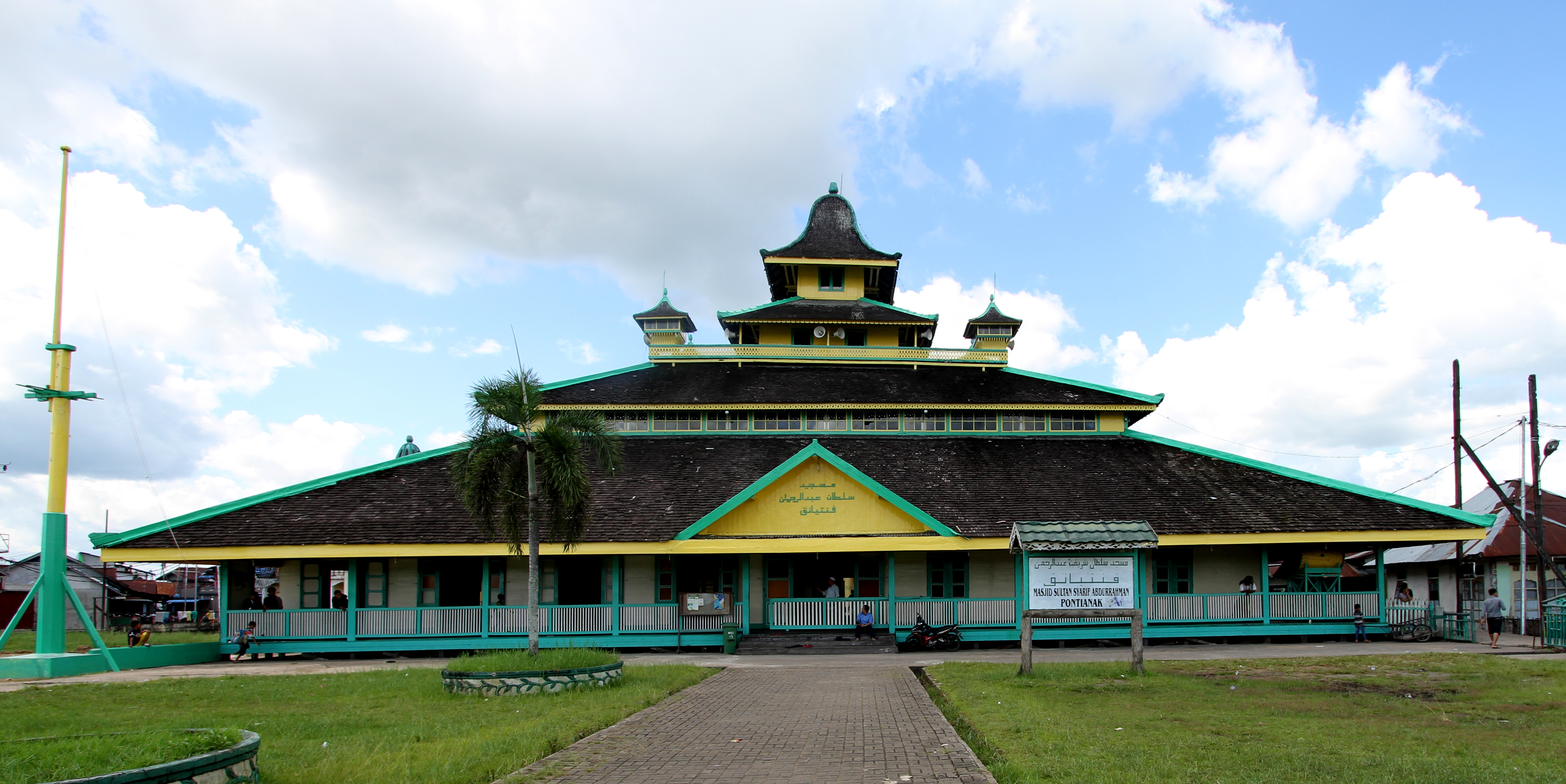 Masjid Jami Kesultanan Pontianak 1 Balai Pelestarian Cagar Budaya Makam