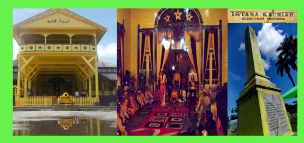 Peradaban Simbol Pontianak Istana Qadriah Makam Kesultanan Kab