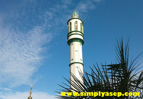 Asep Haryono Personal Blog Megah Salah Satu Menara Masjid Raya