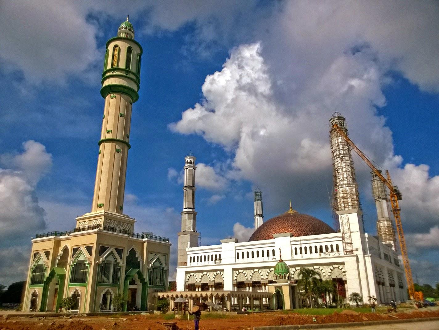 Bakanekobaka Hut Kalimantan Barat 58 Masjid Raya Mujahidin Foto 21