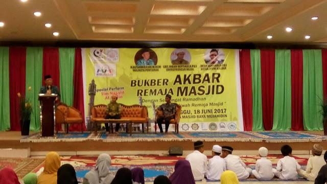 Bukber Akbar Remaja Masjid Se Pontianak Kubu Raya Berjalan Sukses