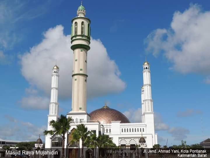 Indonesian Mosque 2nd Page 18 Skyscrapercity Masjid Mujahidin Pontianak Raya