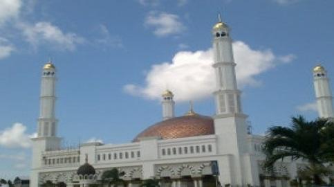 Jokowi Resmikan Masjid Terbesar Kalbar Hari Berita Kementerian Negeri Republik