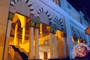 Masjid Mujahidin Pontianak Aula Raya Digunakan Sholat Tarawih Ramadhan 1435