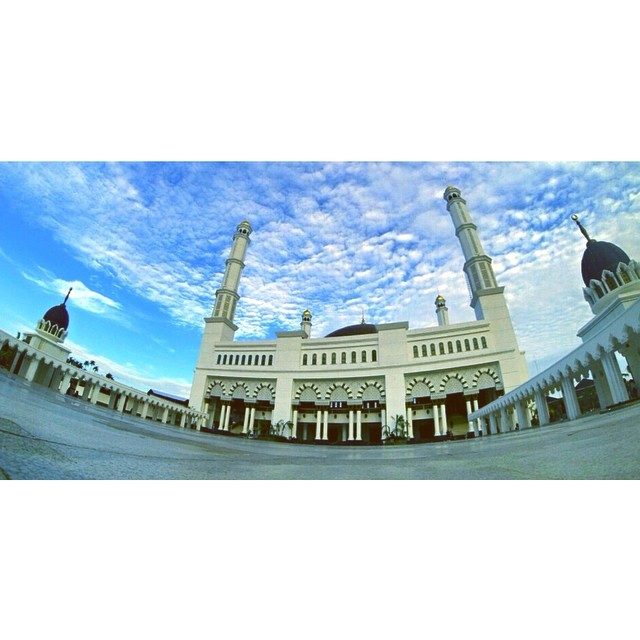 Masjid Raya Instagram Mujahidin Pontianak Melancongyukdikalbar Kab