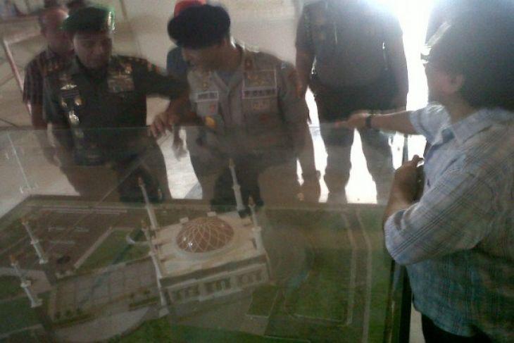 Pembangunan Masjid Raya Mujahidin Pontianak Butuh Rp25 Miliar Kab