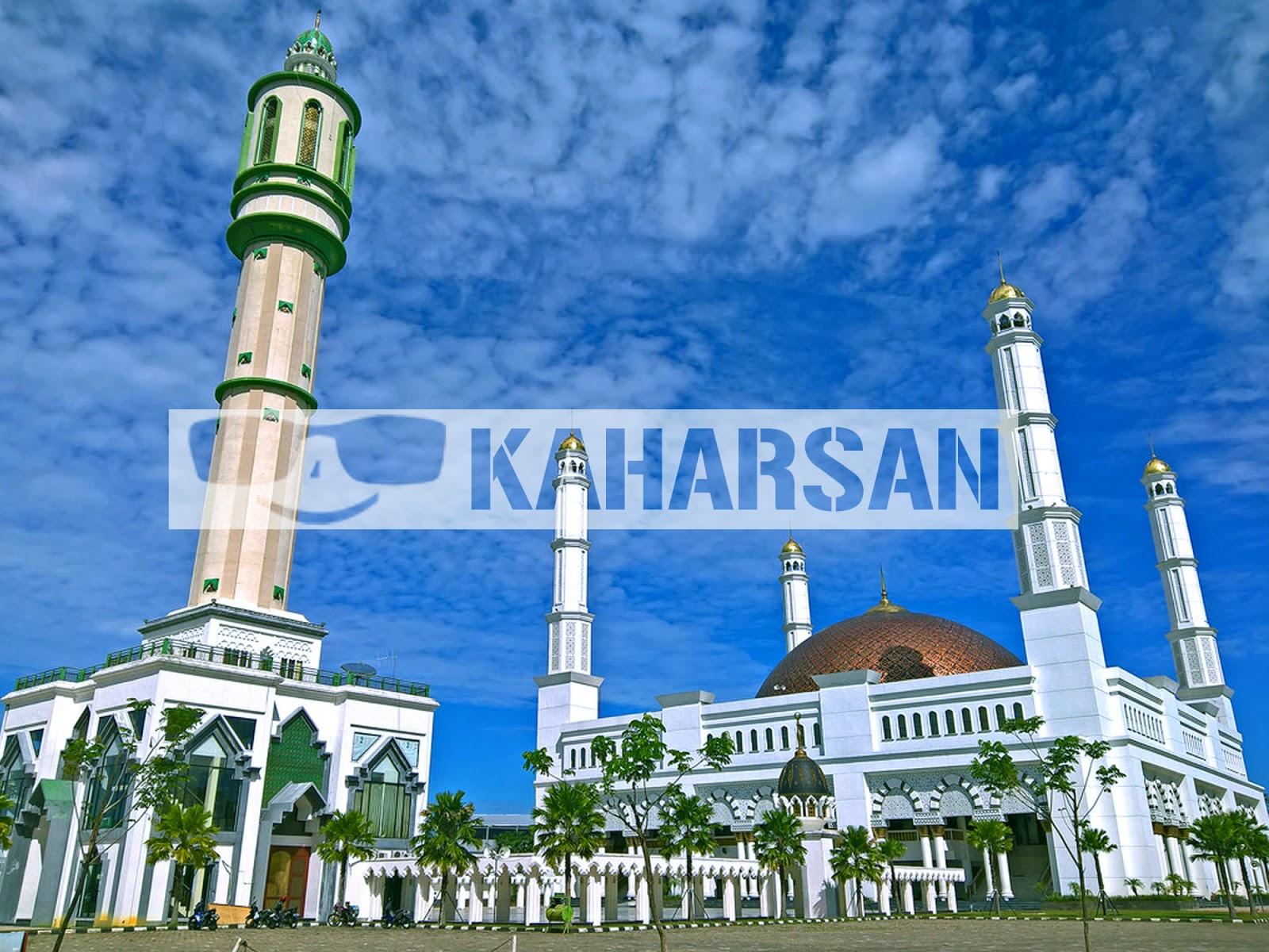 Pontianak Kota Wisata Menarik Indonesia Masjid Kebanggaan Ummat Muslim Kalimantan