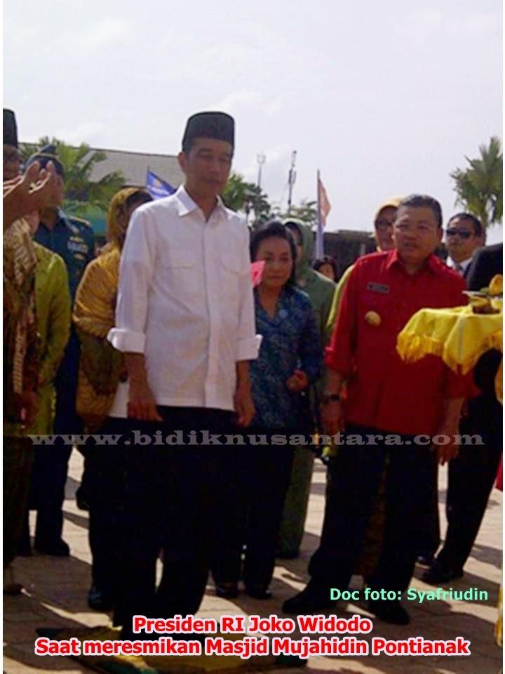 Presiden Ri Joko Widodo Resmikan Masjid Raya Mujahidin Pontianak Kab