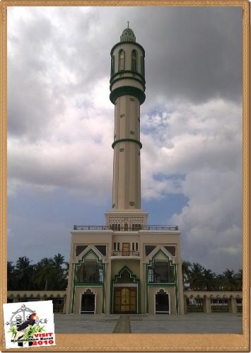 Summer Lock Masjid Raya Mujahidin Didirikan 1974 Kota Pontianak Menarik