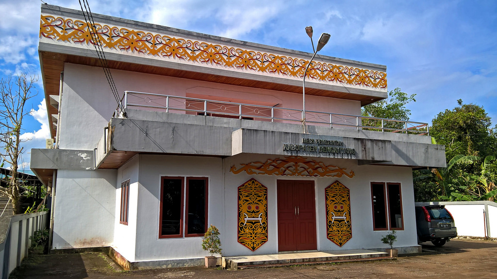 Bakanekobaka Kantor Mes Pemkab Kalbar Pontianak Musium Kalimantan Barat Kab