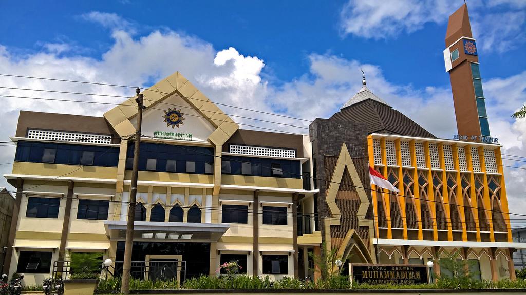 Bakanekobaka Maret 2016 Pusat Dakwah Muhammadiyah Kalimantan Barat Masjid Tanwir