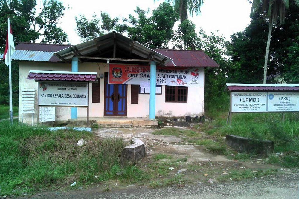 Kantor Desa Benuang Kec Toho Kab Pontianak Koleksi Panoramio Ajie