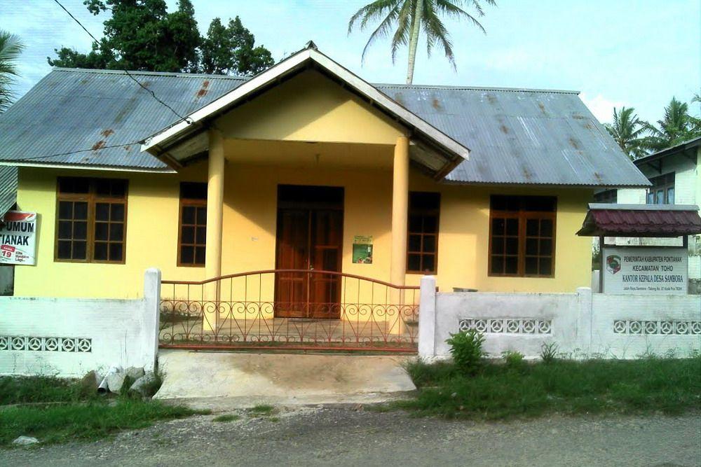 Kantor Desa Sambora Kec Toho Kab Pontianak Koleksi Panoramio Ajie