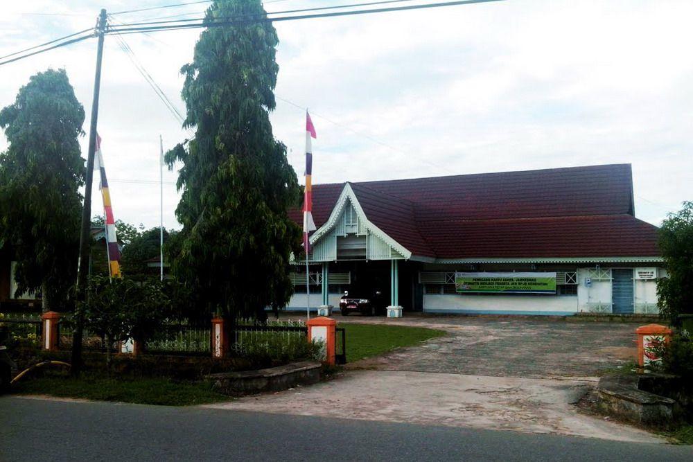 Kantor Dinas Kesehatan Kab Pontianak Mempawah Koleksi Panoramio Ajie Arief