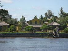 Ketapang Kalimantan Wikipedia Keraton Matan Saunan King Malay Kingdom Palace