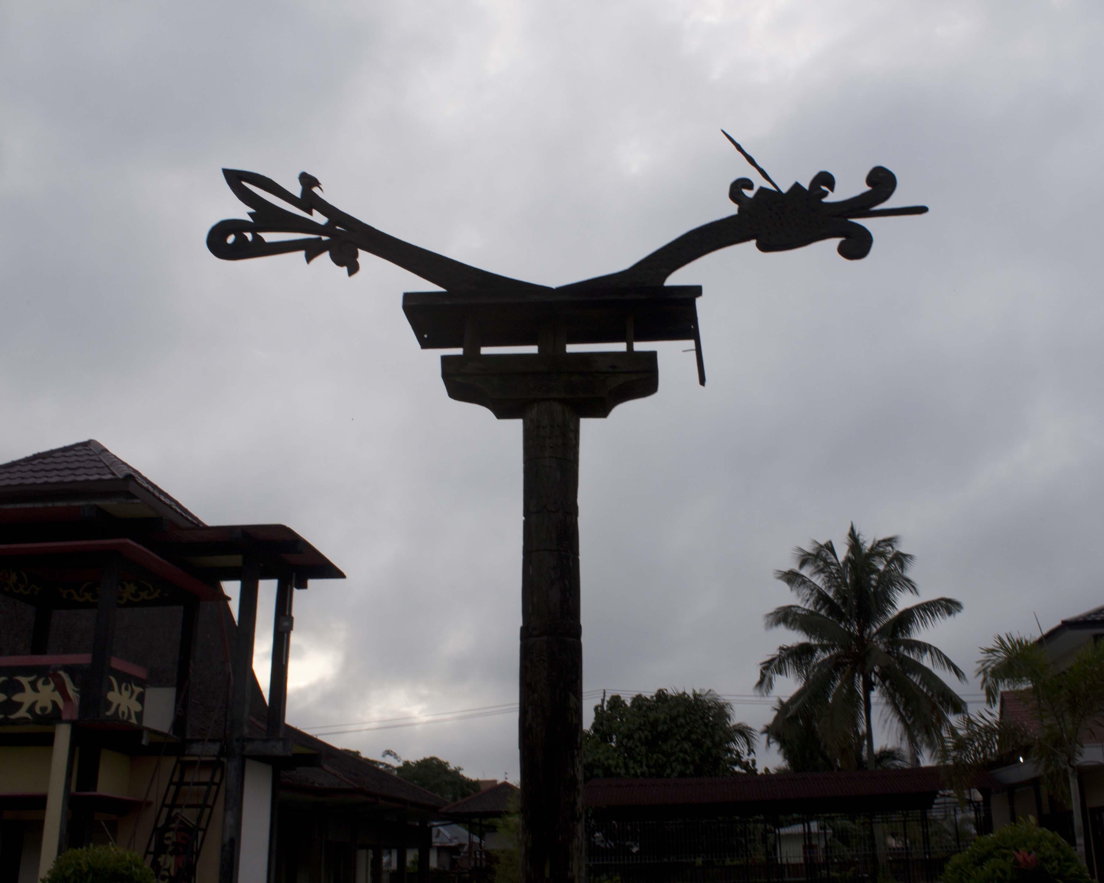 Museum Kalimantan Barat 2 Sotong Pangkong Sandung Tempat Menyimpan Abu