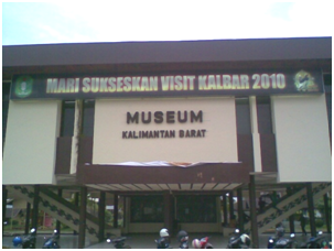 Museum Kalimantan Barat Catatan Iki Musium Kab Pontianak