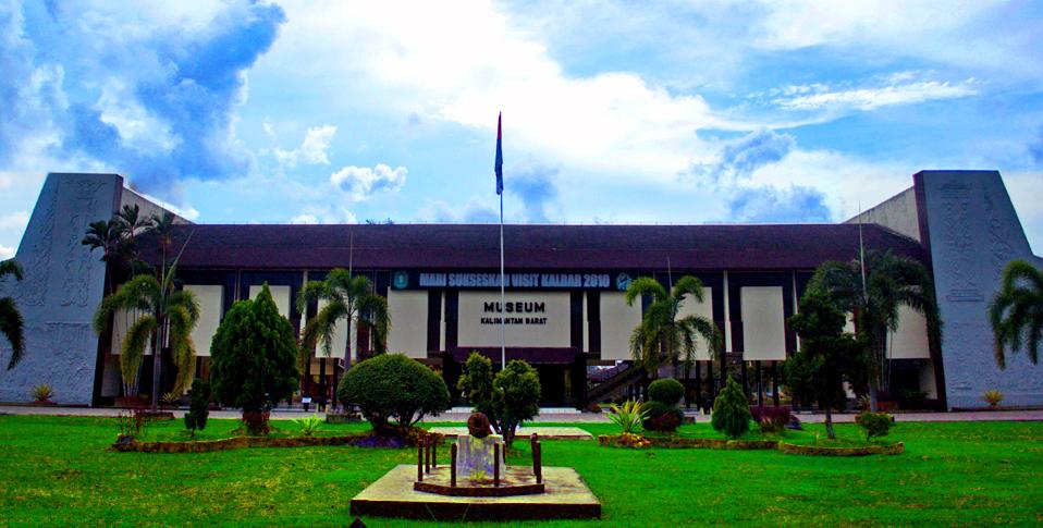 Museum Negeri Kota Pontianak Kalimantan Barat Indonesia Wisata Kaliman Provinsi