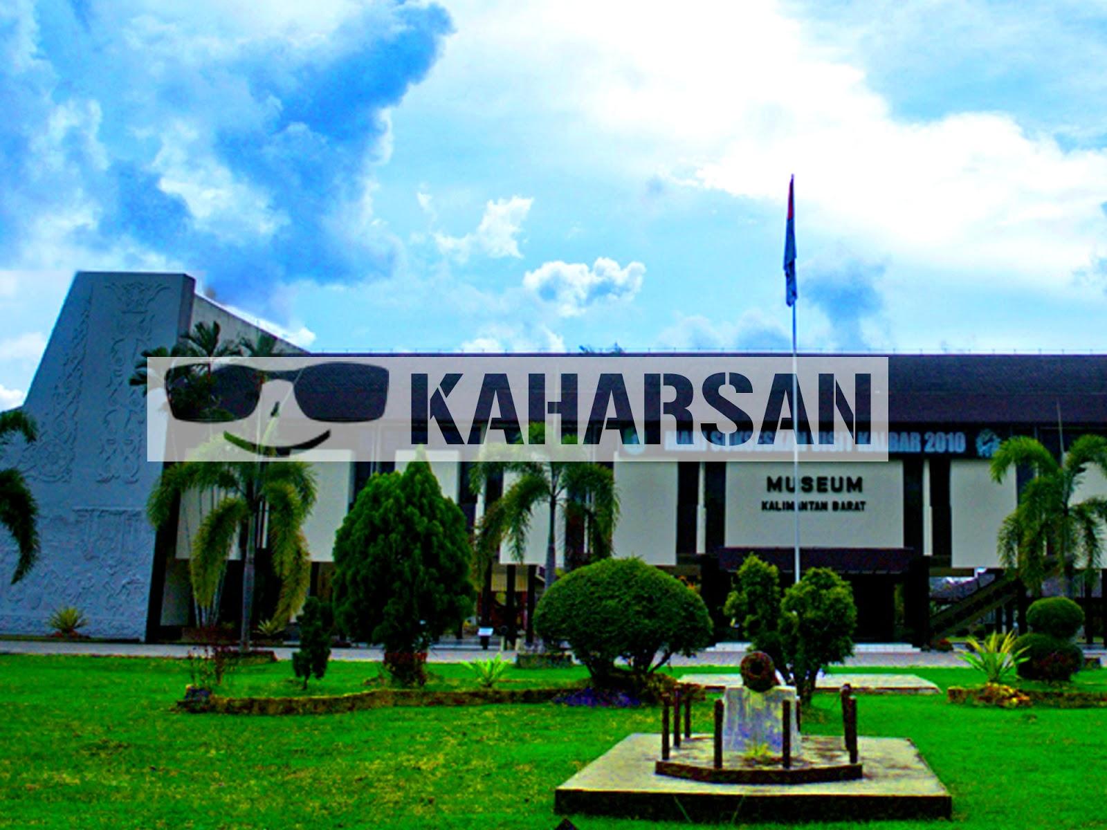 Pontianak Kota Wisata Menarik Indonesia Museum Provinsi Kalimantan Barat Sebuah