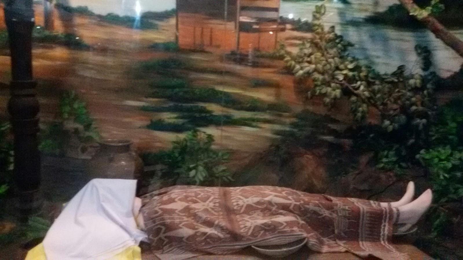 Sejarah Rumah Adat Pontianak Denah Merinding Museum Kalimantan Barat Musium