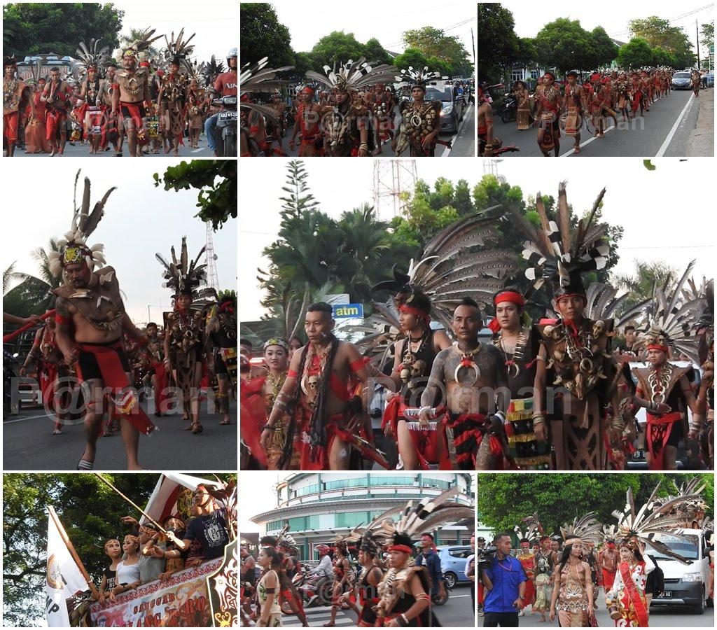 Pawai Budaya Gawai Dayak 20 Mei 2016 Rumah Radank Pontianak