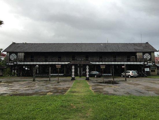 Photo1 Jpg Picture Betang House Pontianak Tripadvisor Rumah Radakng Kab