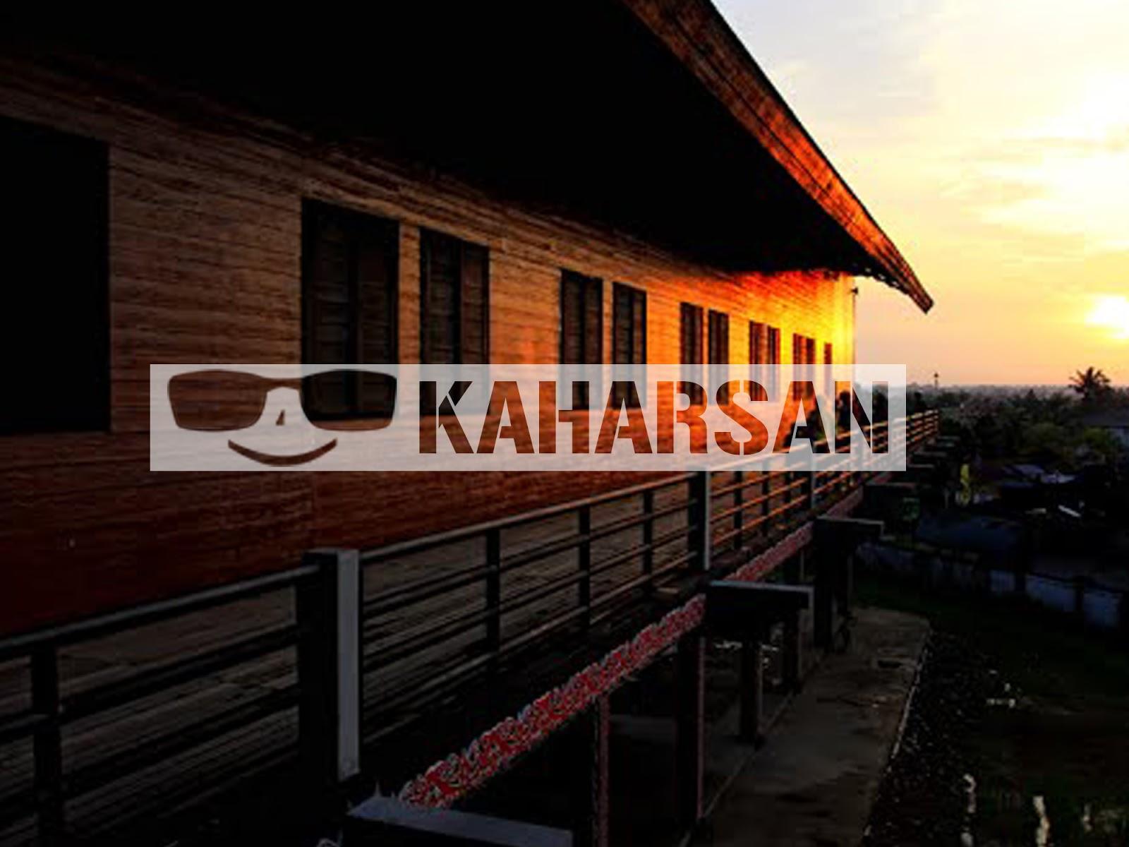 Pontianak Kota Wisata Menarik Indonesia Rumah Adat Melayu Betang Radakng