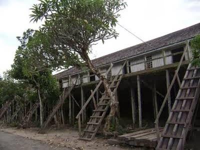 Radakng Sahapm Situs Terakhir Rumah Adat Dayak Kanayatn Voice Bentuk