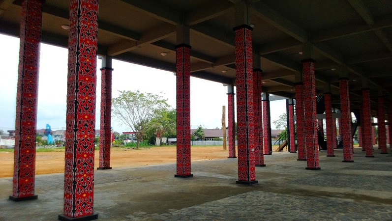 Rumah Adat Kalimantan Barat Dayak Radakng Pontianak Kalbar Segera Dianugerahi