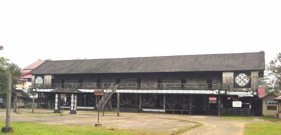 Rumah Betang Picture House Pontianak Tripadvisor Radakng Kab