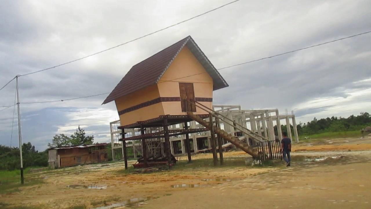 Rumah Radakng Aya Landak Youtube Betang Kab Pontianak
