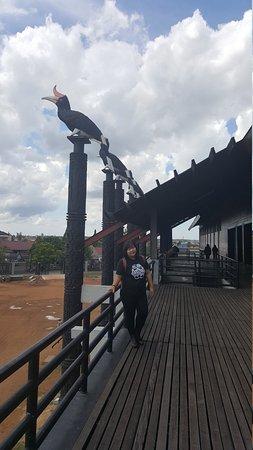 Rumah Radakng Picture Pontianak Tripadvisor Betang Kab