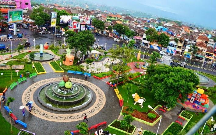 10 Alun City Park Terindah Indonesia Sobokita Kota Batu Taman