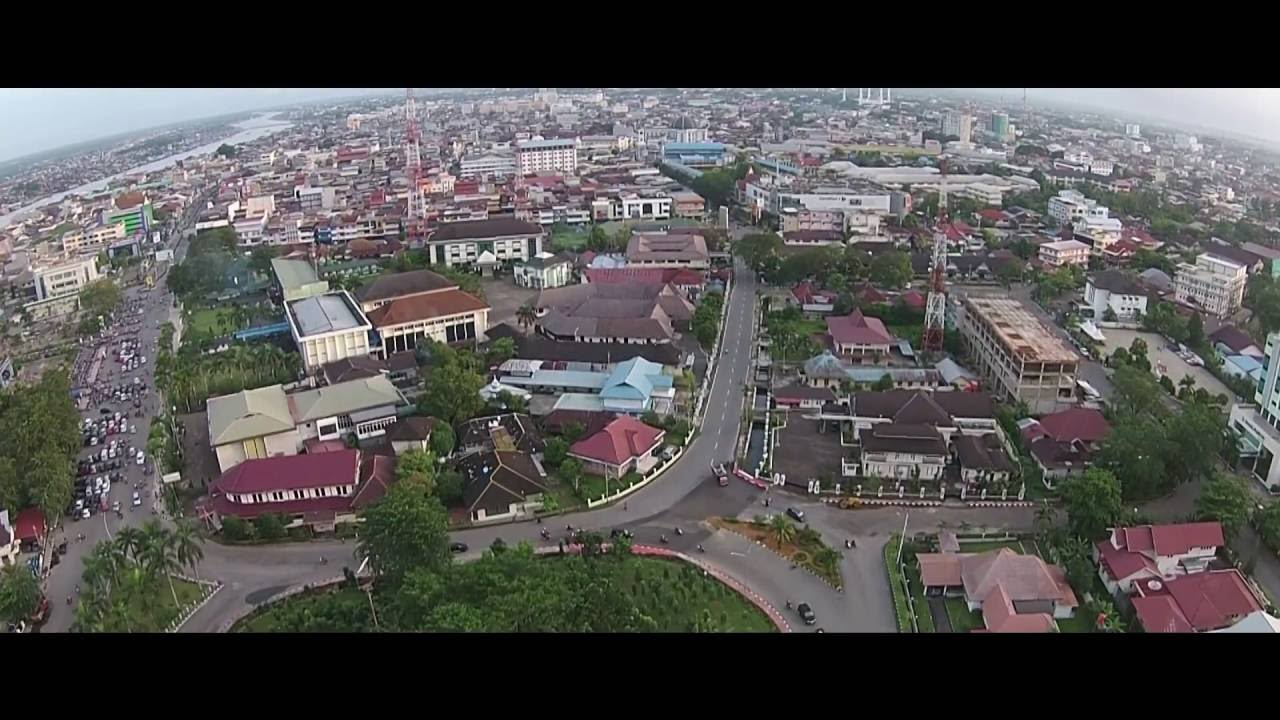 Alun Kapuas Pontianak Kalimantan Barat Youtube Taman Kab