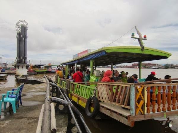 Berita Pontianak Taman Alun Kapuas Wisata Air Sungai Kab