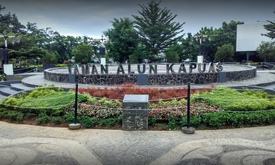 Pariwisata Supadio Airport Taman Alun Kapuas Kab Pontianak