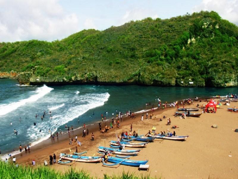 Pesona Wisata Yogyakarta Pantai Baron Gunung Kidul Jpg Fit 800