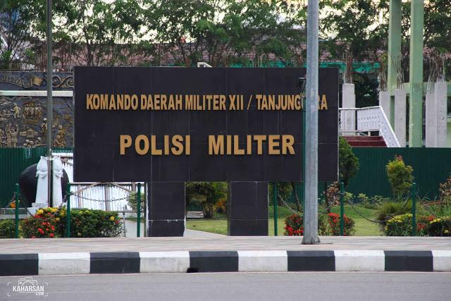 Taman Alun Kapuas Tempat Wisata Kota Pontianak Korem Kaharsan Kab