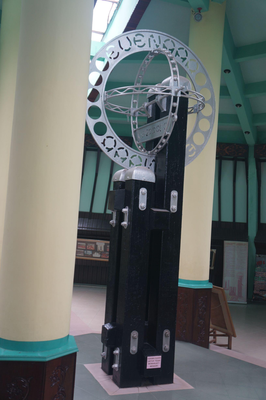 Jalan Wisata Kota Pontianak Bangunan Tugu Khatulistiwa Kab