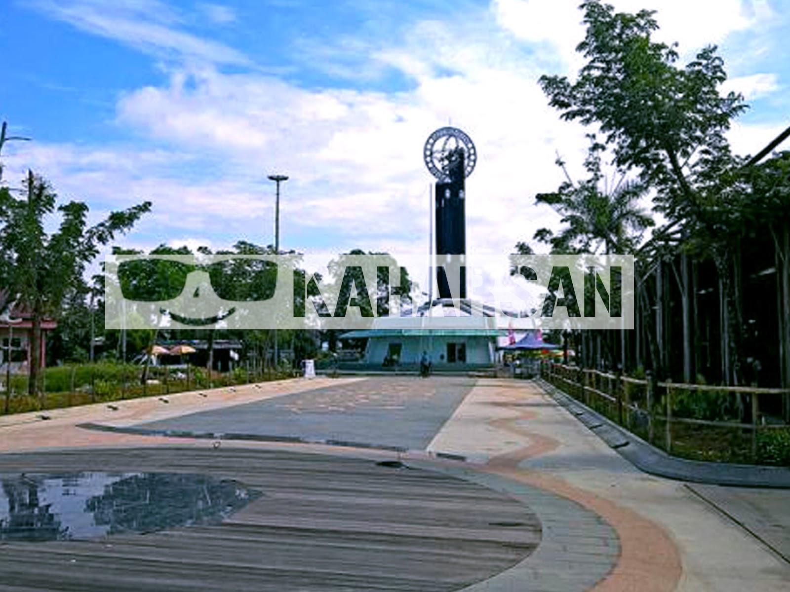 Pontianak Kota Wisata Menarik Indonesia Tugu Khatulistiwa Equator Monument Berada