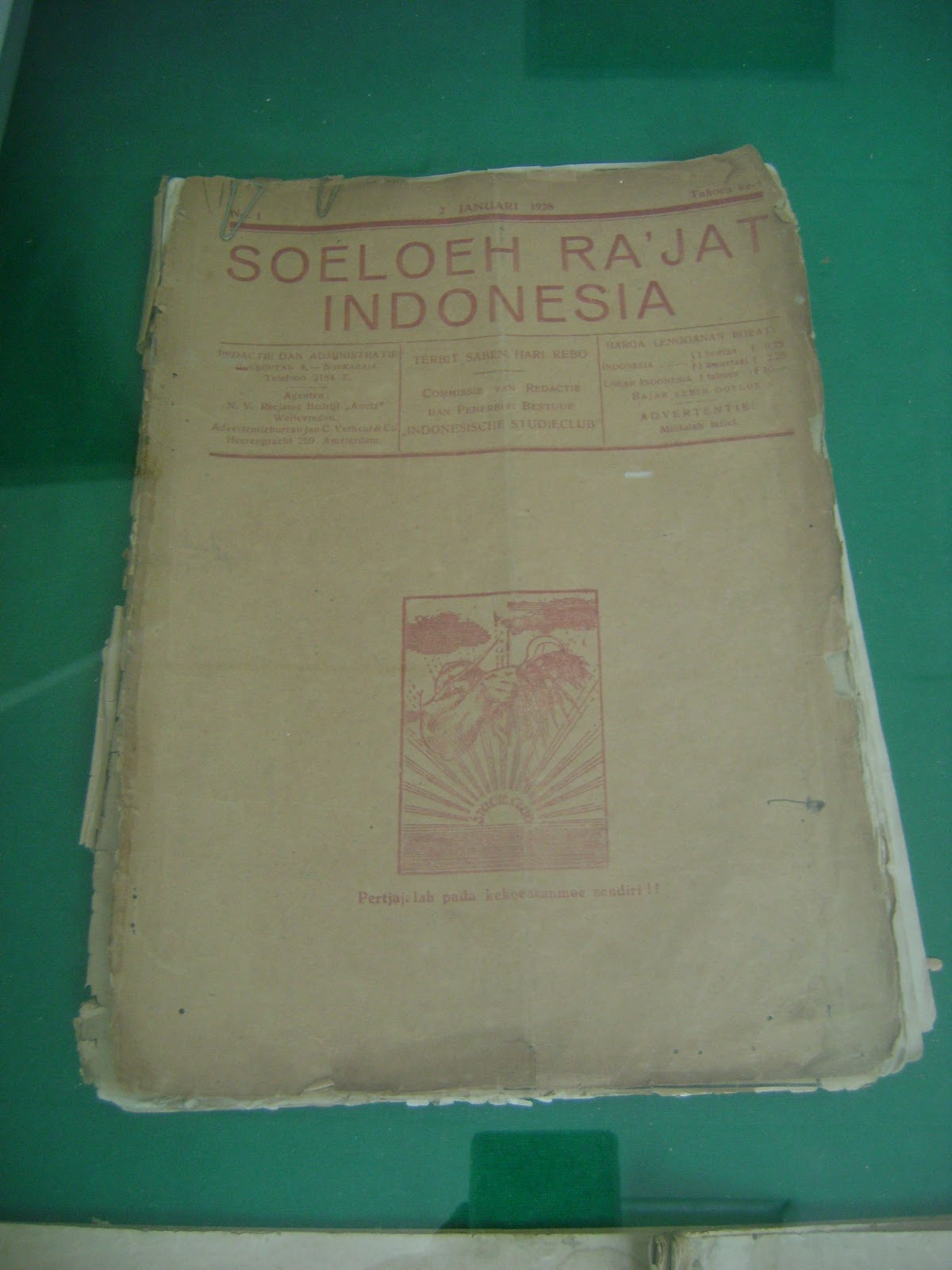 Majalah Soeloeh Ra Jat Indonesia Kekunaan Vihara Bodhisattva Karaniya Metta