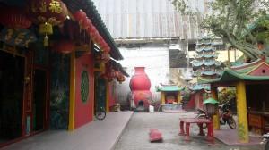 Nostalgia Kota Tua Pontianak Indonesian Heritage Wihara Vihara Bodhisattva Karaniya