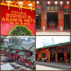 Pontianak Kota Wisata Menarik Indonesia Rental Mobil Vihara Bodhisatva Karaniya