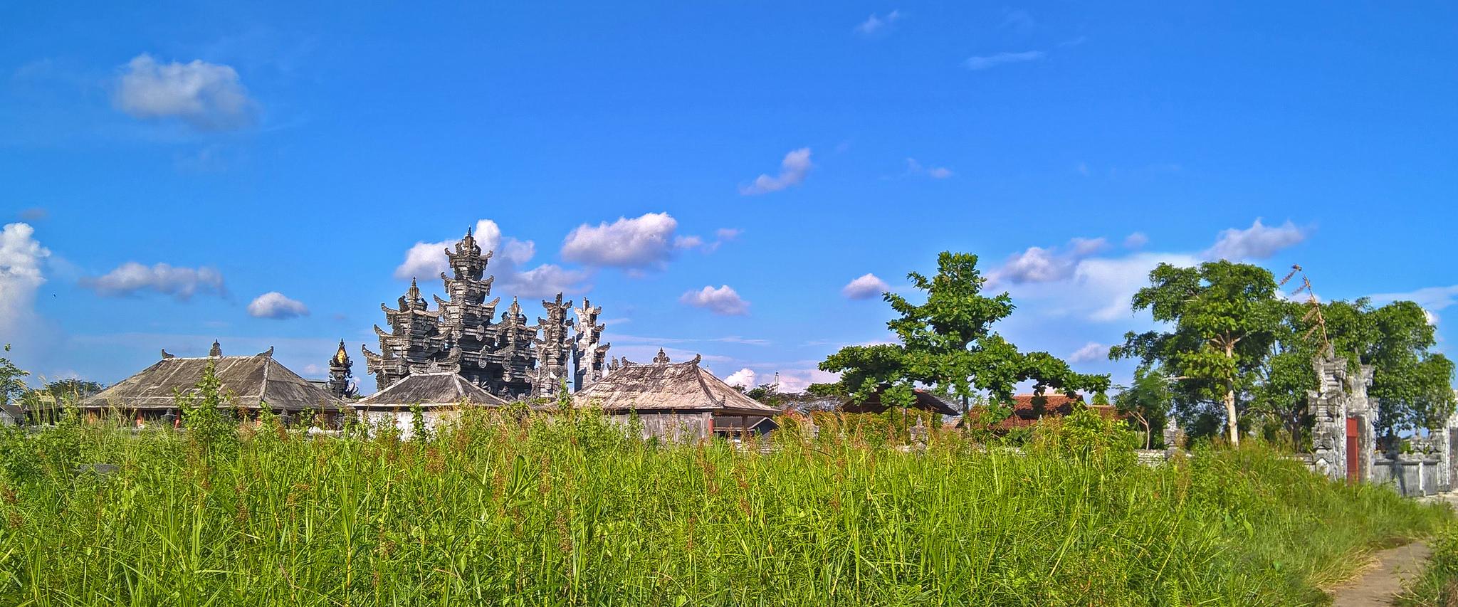 Religious Places Indonesia Mosques Churches Sungai Raya Kab Kubu Prov