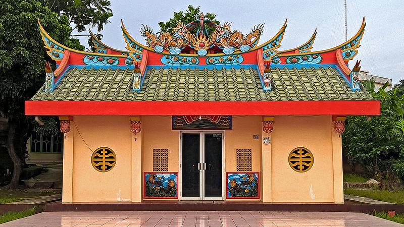 Religious Places Indonesia Mosques Churches Vihara Naga Bhakti Kel 26