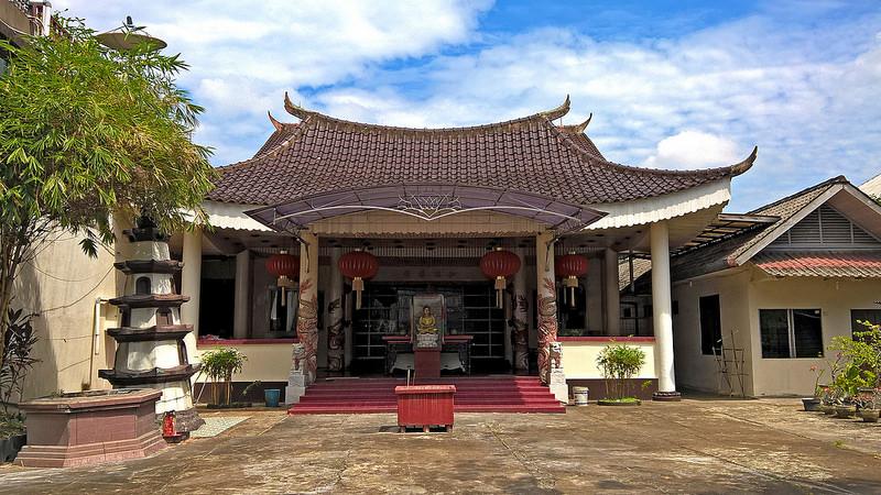 Religious Places Indonesia Mosques Churches Vihara Sakyamuni Jl Pattimura Kel
