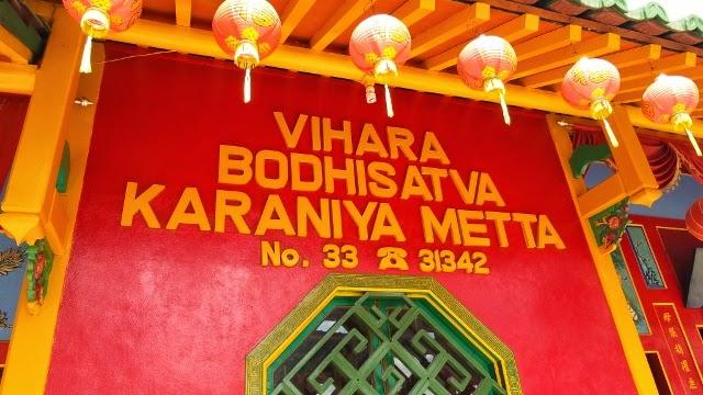 Vihara Bodhisatva Karaniya Metta Pontianak Jejak Bodhisattva Kab