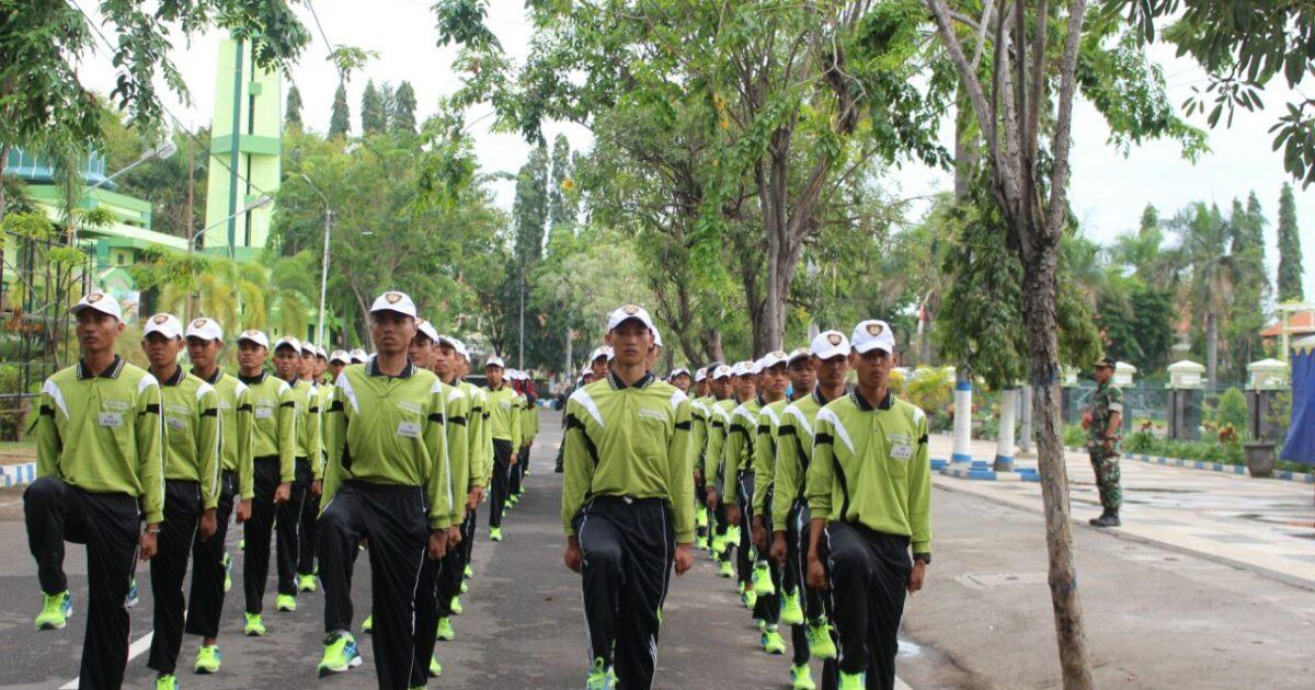 74 Personel Paskibra Mulai Latihan Portal Kabupaten Probolinggo Alun Kab