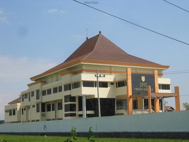 Gedung Dprd Kabupaten Probolinggo Alun Kab
